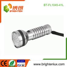 Fabrik Bulk Verkauf 4 * AAA batteriebetriebene Handheld gute Qualität Bright 41 führte Aluminium LED Taschenlampen in China gemacht