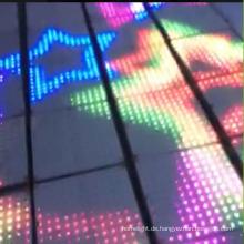 DJ Lighting macht beleuchtete interaktive LED Tanzfläche