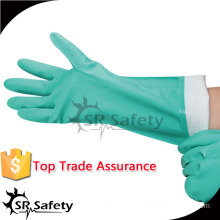 SRSAFETY green pvc gloves with best price and quality sales good in china