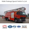 Camión de Rescate Aéreo Euro3 de la espuma del Benz 10ton