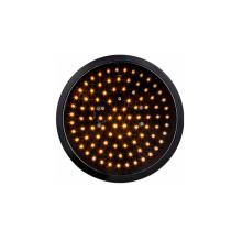 200mm 8 inch LED Traffic Light yellow optical amber optical