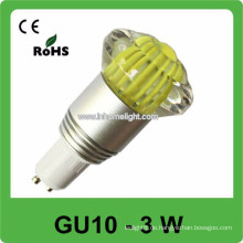 CE & ROHS 3w AC 85v-265v RGBsmall führte Punkt Glühlampen gu10,3 Jahre Garantie