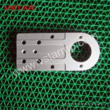 Kundenspezifische CNC, die Aluminiumherstellung des Hubschrauber-Modell-Ersatzteiles maschinell bearbeitet