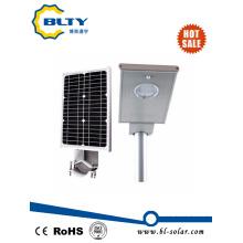 Luz de calle solar con el LED y el panel solar