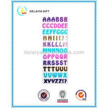 PVC/EVA foam alphabet letter sticker toys for children