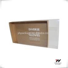 Boîte en plastique claire d'impression de haute qualité de Yonghua