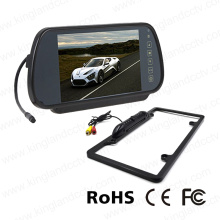 7inch Mirror Monitor System with Us License Plate Camera