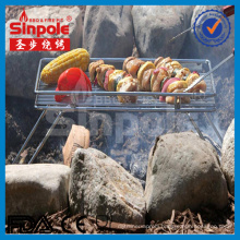 New SUS304 Stainess Steel Camping Grill with Ce/FDA Approved (SP-CGS011)