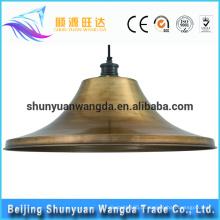2016 novo baixo preço de boa qualidade Vendas quentes fábrica metal lampshade tiffany lâmpada peças
