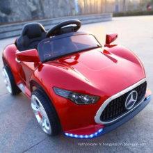 12v enfants monter sur la voiture électrique de voiture électrique de jouet de télécommande