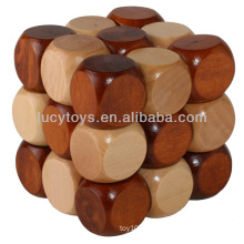 Magic Cube wooden puzzle game