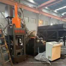 Metallverarbeitung Hydraulische Kupferbriketter der Serie Y83