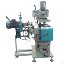 Maquina de procesamiento de maquina perforadora de perfil de puerta UPVC