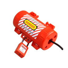 Plastic electrical standard grounding plug lockout in other safety products
