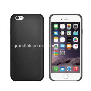 Хорошая цена для iphone6 покрывает PU кожаный чехол, мягкий ощупь.