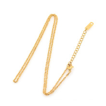 Künstliche 22k Goldkette Halskette Design
