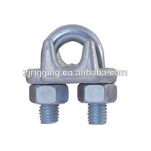 Galvanized carbon steel drop forged wire rope clip