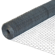 Amazon Vidaxl Galvanized Steel Wire 1 Inch 2 Inch Hexagonal Hole Poultry Wire