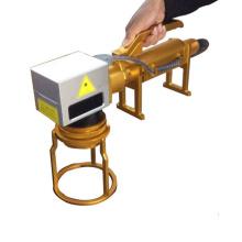 Machine portative de marquage laser de cadre de bicyclette portable 50W CNC