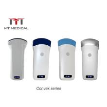 Newest Design Color Doppler Convex Probe Mini Wifi USG Wireless Ultrasound Machine