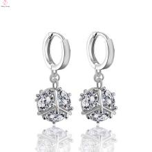 Beautiful Cz 925Sterling Silver Stud Earrings Designs