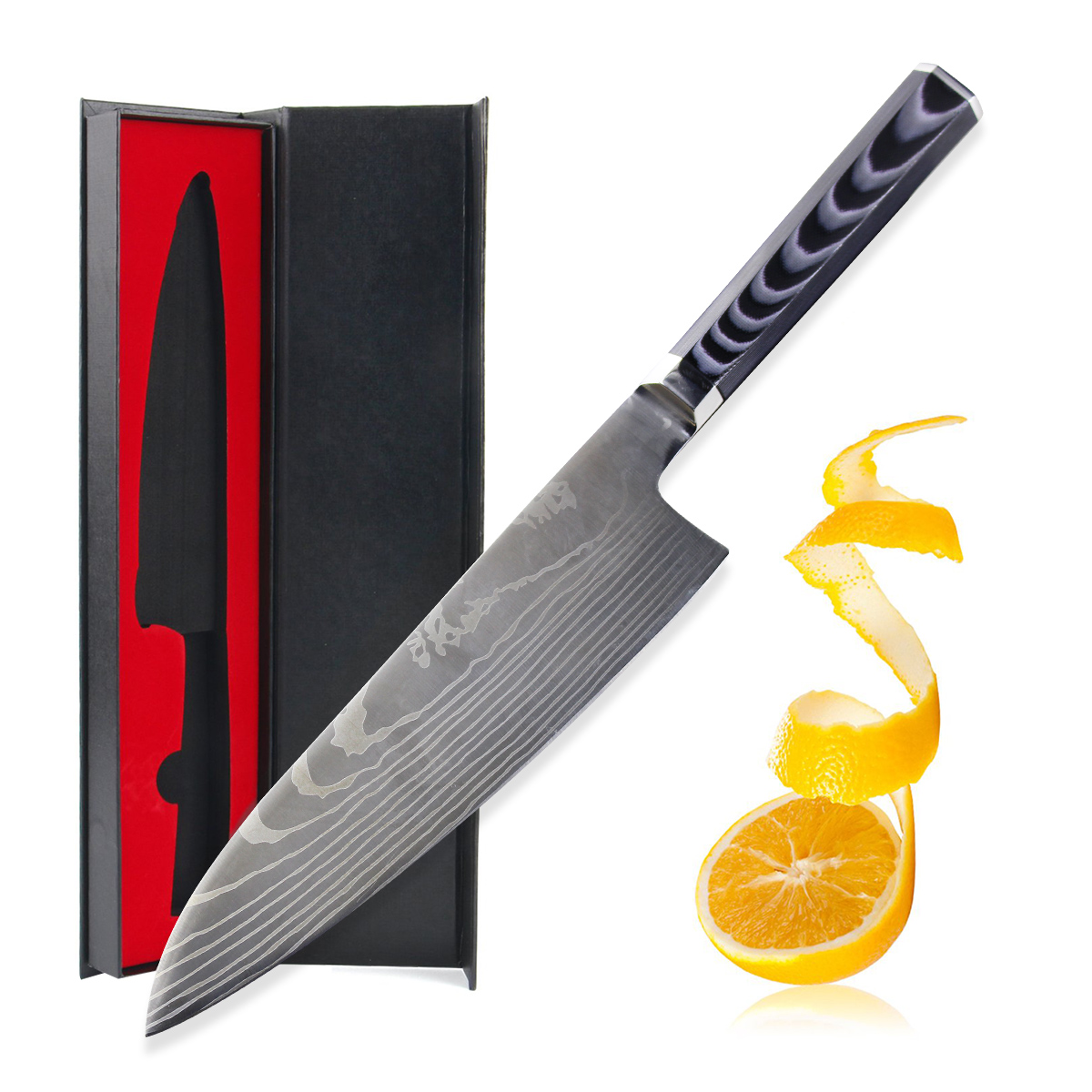 chef knife japanese steel