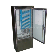 Outdoor Fiber Optic Cross Connecting Cable Cabinet