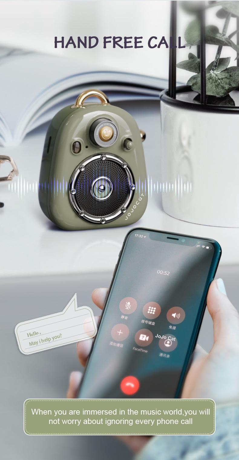 Waterproof Bluetooth Retro Speaker for Office