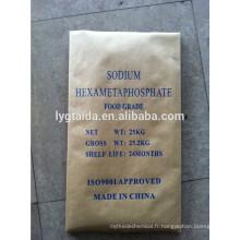 SHMP 68% Hexametaphosphate de sodium