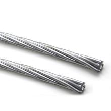 """IEC standard overhead ground wire (OHGW) Galvanized Steel Wire 7/16"""""""