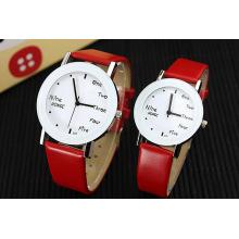 Design simples Japão Movimento Promoção Couple Watch