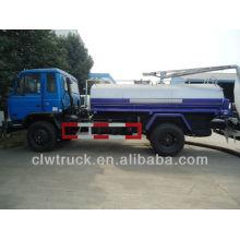 Dongfeng 4x2 fecal camión de succión, 10m3 camión fecal