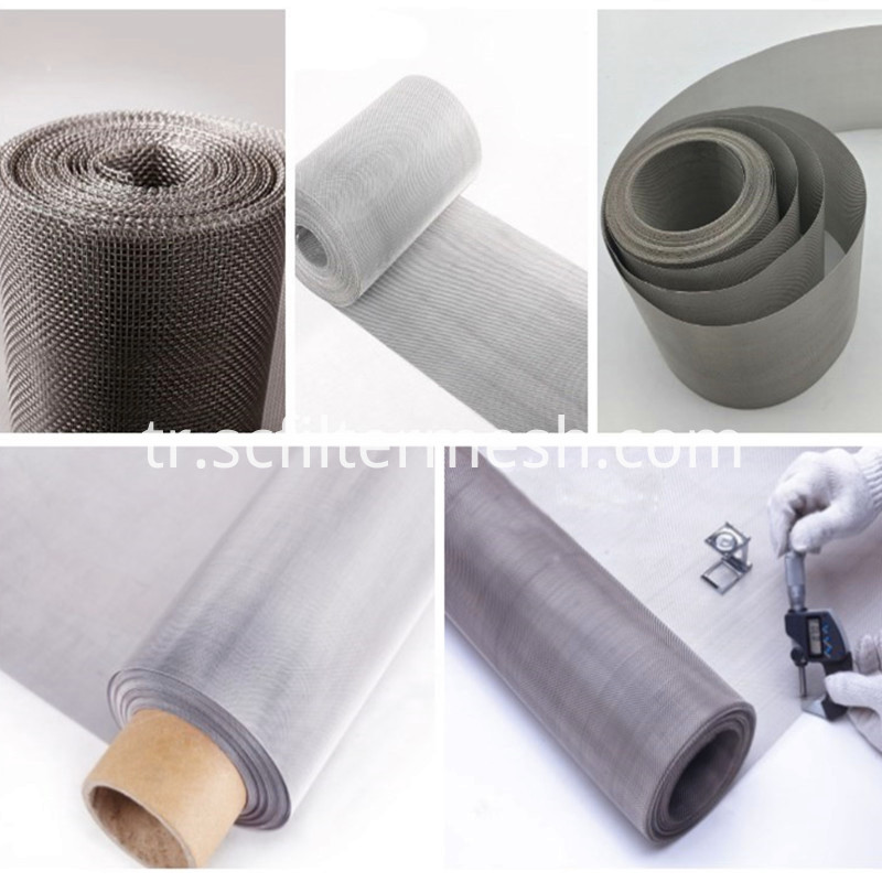 stainless steel filter cloth