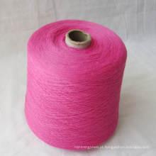 Fio de tecelagem misturado extremidade regenerado Hb928 do algodão