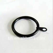 2011 Hot Sell black Iron eyelet Curtain Rings