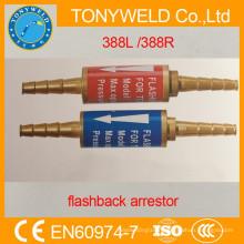 Flashback arrestor for torch 388L 388R