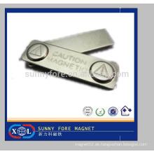45mm Karte Halter benutzerdefinierte magnetischen Metall Abzeichen