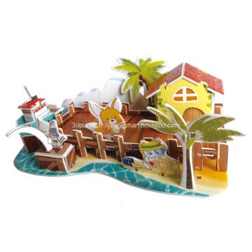 Puzzle de quai du pêcheur 3D