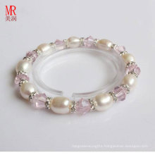 Stretched Children Kids Freshwater Pearl Bracelet