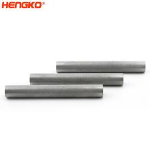 5 25 microns Sintered stainless steel 316L porous powder metal precise air nano filter tube