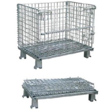 Galvanized Foldable Wire Mesh Container