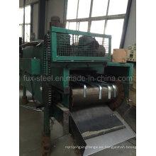 Equipo de secado de barras roscadas de fábrica para la galvanización