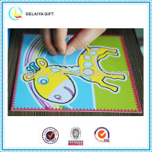 Sand art/sand sticker as educational toy for kids