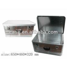 Aluminum tool case storage