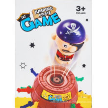 Brinquedo Prank plástico Saltar piratas barris brinquedo