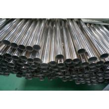 Tubulação de abastecimento de água de aço inoxidável SUS304 En (22 * 1.2 * 5750)