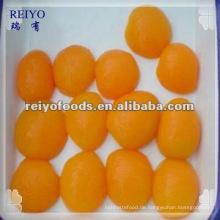 Konserven Aprikosenhälften in leichtem Sirup