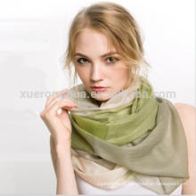 100% pañuelo pashmina fina bufanda para el otoño