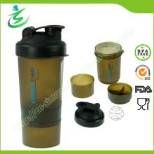 Bouteille de récolte de protéine sans alcool de 600 ml, Shaker Cup