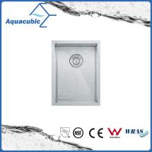 Évier de cuisine en acier inoxydable en acier inoxydable à simple bol (ACS1520A1)